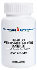 Digestive Enzyme - Prebiotic-Probiotic Blend UPPER Digestive Tract Support MAIN