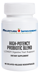 High-Potency Probiotic Blend LOWER Digestive Tract Support