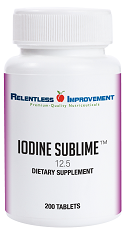 Iodine Sublime 12.5