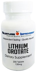 Lithium Orotate Tablets