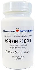 100mg R-Lipoic Acid | Na-R-ALA (Stabilized R-Lipoic Acid)
