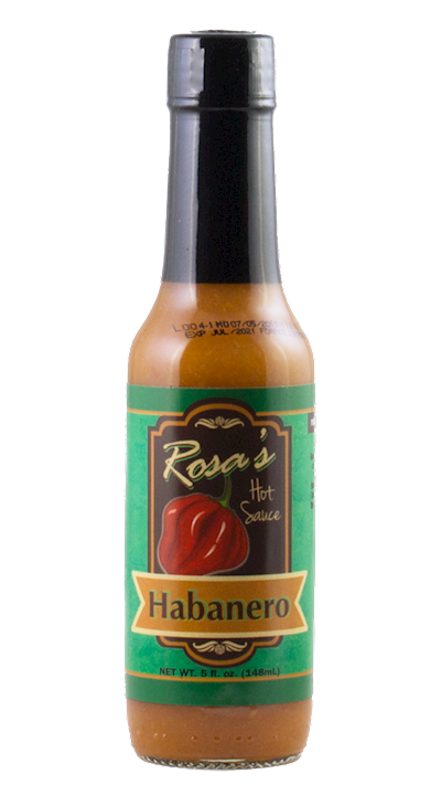 Rosa's Hot Sauce - Habanero LARGE
