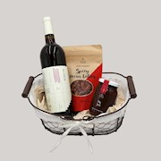 holiday wine tinto gift basket THUMBNAIL