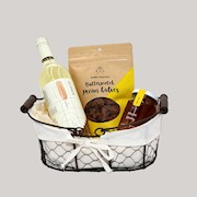 holiday wine chardonnay gift basket THUMBNAIL