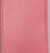 Wired Double Face Satin Ribbon - Pink LARGE