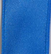 Wired Double Face Satin Ribbon - Blue LARGE