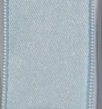 Wired Double Face Satin Ribbon - Light Blue