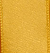 Wired Double Face Satin Ribbon - Bright Yellow LARGE