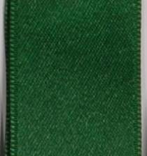 Wired Double Face Satin Ribbon - Emerald LARGE