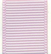 Grosgrain Ribbon (Solid) - Icy Pink