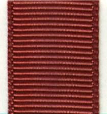 Grosgrain Ribbon (Solid) - Cinnabar