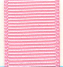 Grosgrain Ribbon (Solid) - Rose Pink