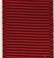 Grosgrain Ribbon (Solid) - Scarlet