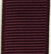 Grosgrain Ribbon (Solid) - Burgundy