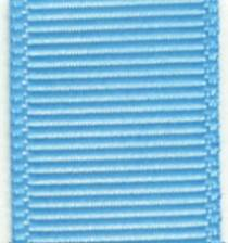 Grosgrain Ribbon (Solid) - Blue Topaz