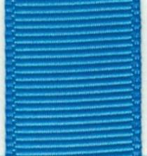 Grosgrain Ribbon (Solid) - Island Blue