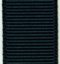 Grosgrain Ribbon (Solid) - Military Blue