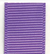 Grosgrain Ribbon (Solid) - Hyacinth LARGE