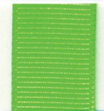 Grosgrain Ribbon (Solid) - Acid Green