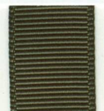 Grosgrain Ribbon (Solid) - Dark Olive LARGE