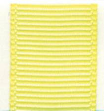 Grosgrain Ribbon (Solid) - Baby Maize LARGE
