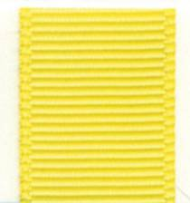Grosgrain Ribbon (Solid) - Lemon