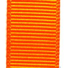 Grosgrain Ribbon (Solid) - Tangerine LARGE
