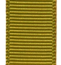 Grosgrain Ribbon (Solid) - Golden Olive
