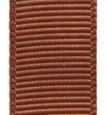 Grosgrain Ribbon (Solid) - Pecan Brown_LARGE
