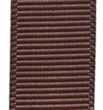 Grosgrain Ribbon (Solid) - Chocolate Chip_LARGE