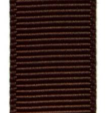 Grosgrain Ribbon (Solid) - Brown
