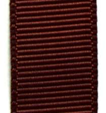 Grosgrain Ribbon (Solid) - Friar Brown