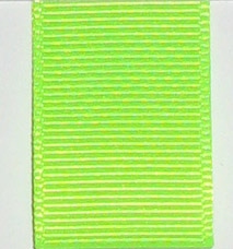 Grosgrain Ribbon (Solid) - Key Lime LARGE