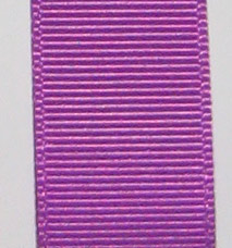 Neon Grosgrain Ribbon - Bright Purple LARGE