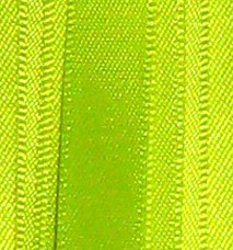 Neon Double Face Satin Ribbon - Neon Yellow