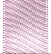 Double Face Satin Ribbon - Icy Pink