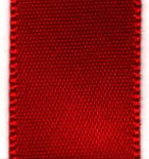 Double Face Satin Ribbon -  Red