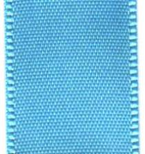 Double Face Satin Ribbon -  Blue Topaz LARGE
