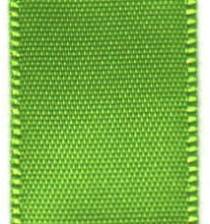 Double Face Satin Ribbon - Apple Green  / Lime