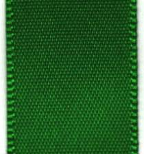 Double Face Satin Ribbon -  Classical Green LARGE