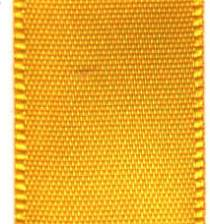 Double Face Satin Ribbon - Maize LARGE