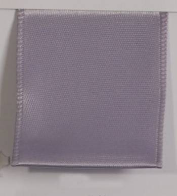 Wired Single Face Satin Ribbon - Victorian Lilac