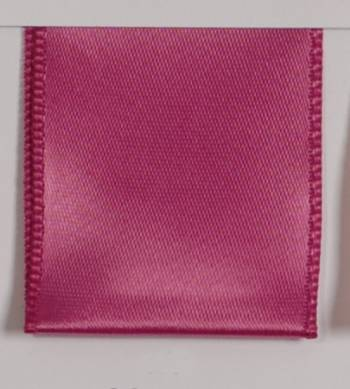 Wired Single Face Satin Ribbon - Magenta
