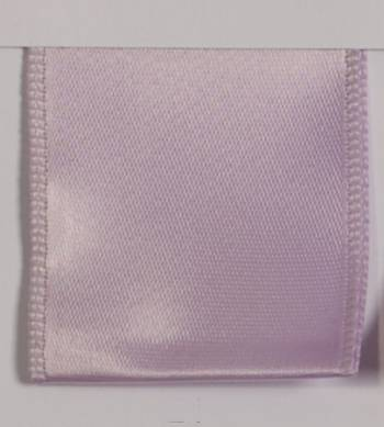 Wired Single Face Satin Ribbon - Lavender