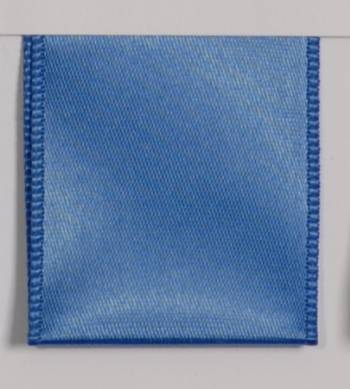 Wired Single Face Satin Ribbon - Royal Blue