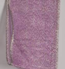 Wired Ribbon | Luxor Wired Metallic Ribbon - Lilac LARGE