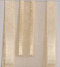 Sheer Ribbon - Delight - Ivory