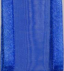 Sheer Ribbon - Delight - Royal Blue LARGE