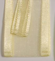Sheer Ribbon - Delight - Light Yellow LARGE