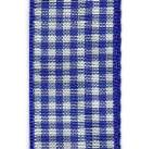 Country Check Ribbon - Royal Blue THUMBNAIL